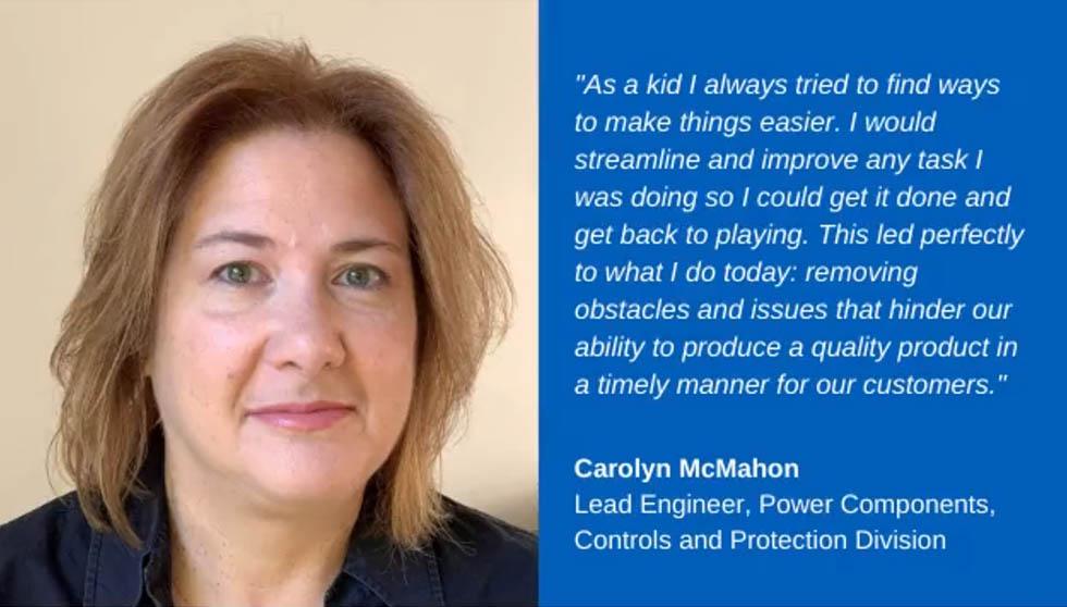 Eaton women engineer jobs - Carolyn