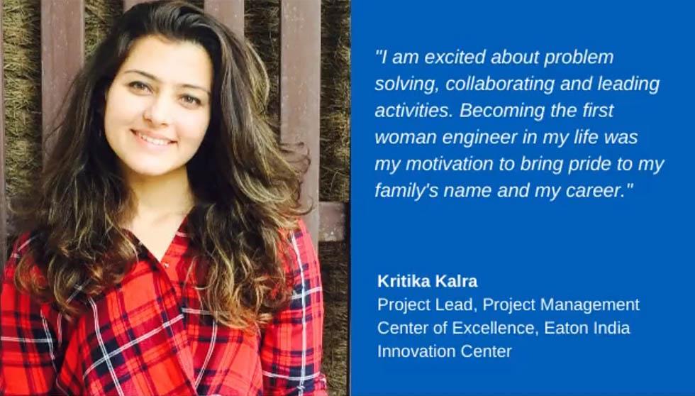 Eaton women engineer jobs - Kritika