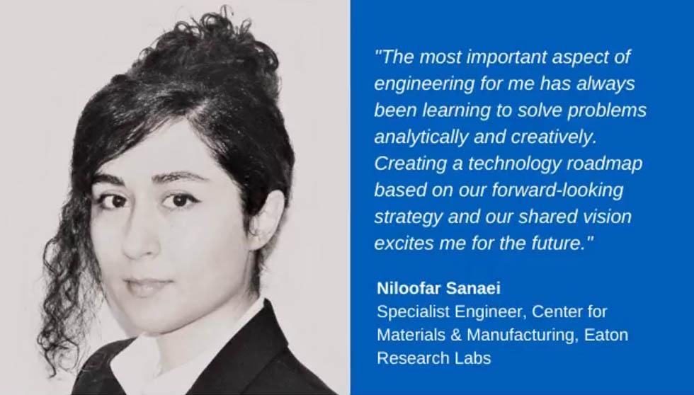 Eaton women engineer jobs - Niloofar