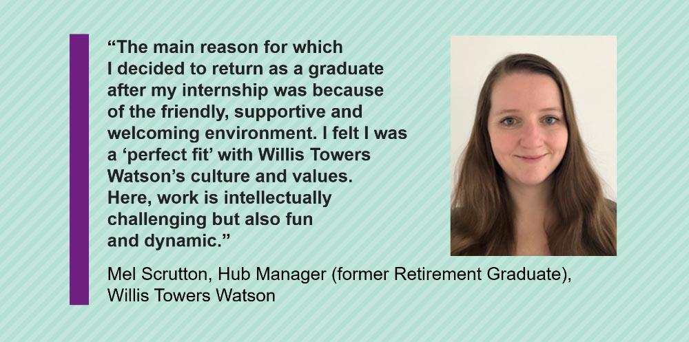 WIllis Towers Watson graduate